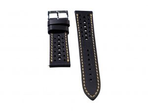 Lot #6414 – Tokki Project Harmattan Desert Night Leather Watch Strap 22MM 22mm Straps Tokki Project Harmattan