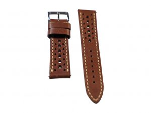Lot #6416 – Tokki Project Harmattan Desert Palm Leather Watch Strap 20MM 20mm Straps Tokki Project Harmattan