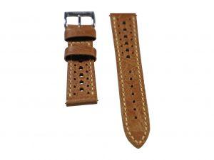 Lot #6417 – Tokki Project Harmattan Signature Distressed Leather Watch Strap 20MM 18mm Straps [tag]