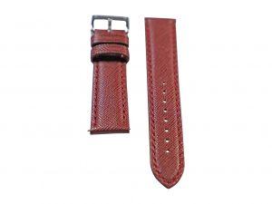 Lot #6419 – Tokki Project Coromuel Ensenada Burgundy Leather Watch Strap 20MM 20mm Straps Tokki Project Coromuel