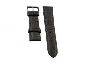 Lot #6420 – Tokki Project Coromuel Tiburon Grey Leather Watch Strap 20MM 20mm Straps Tokki Project Coromuel