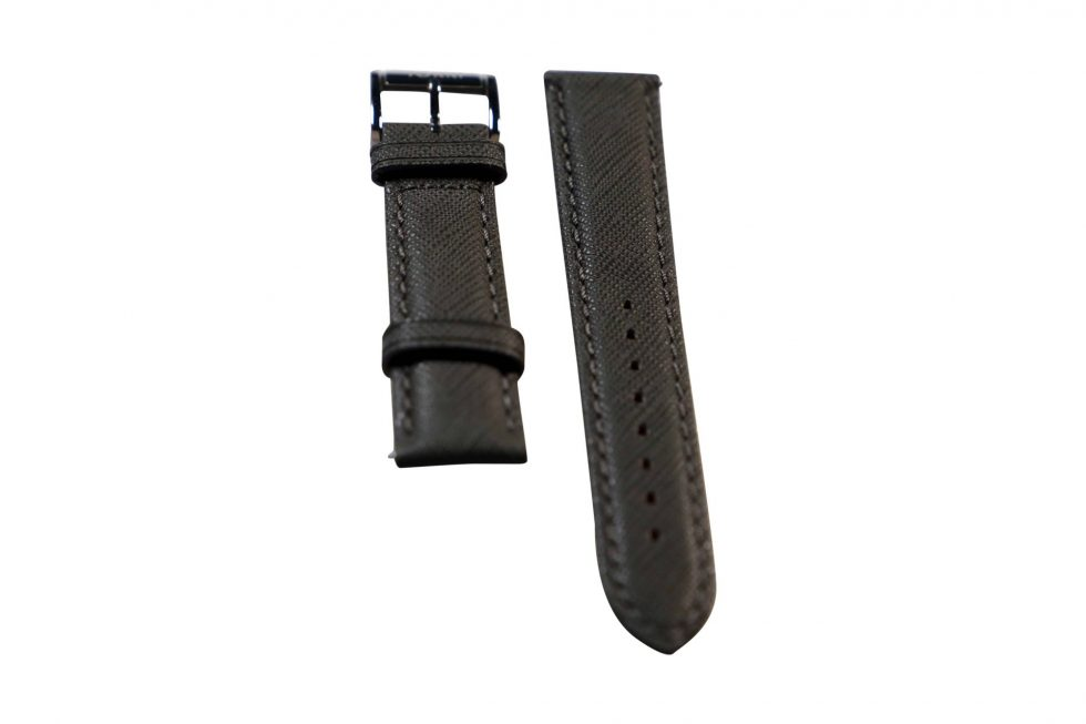 Lot #6420 – Tokki Project Coromuel Tiburon Grey Leather Watch Strap 20MM 20mm Straps Tokki Project Coromuel