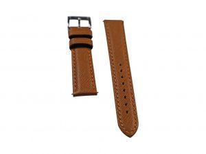 Lot #6421 – Tokki Project Coromuel Coronado Tan Leather Watch Strap 18MM 18mm Straps [tag]