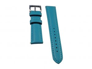 Lot #6422 – Tokki Project Coromuel Azul Pacifico Leather Watch Strap 18MM 18mm Straps [tag]