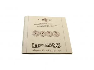 Lot #6427A – Eberhard & Co Chrono4 Warranty Guarantee Instruction Booklet Eberhard & Co [tag]