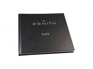 Lot #6427B – Zenith Elite Watch Instruction Manual Booklet Eberhard & Co [tag]