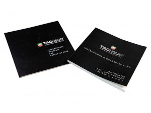 Lot #6427H – Tag Heuer Watch Warranty Guarantee Card With Instruction Manual Booklets Eberhard & Co [tag]