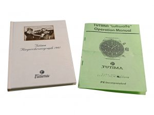 Lot #6427I – Tutima Luftwaffe Chronograph Operational Manual and History Booklet Tutima [tag]