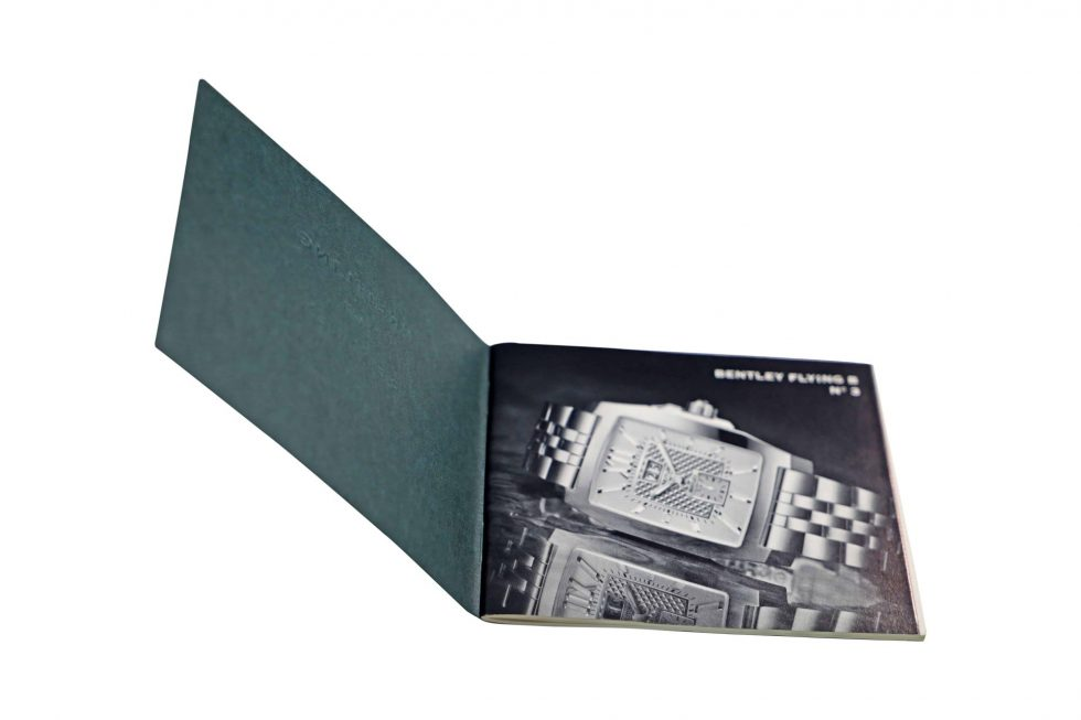 Lot #6427K – Breitling Bentley Flying B No 3 Watch Instruction Booklet Eberhard & Co [tag]