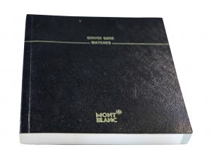 Lot #6427N – Montblanc Warranty Guarantee Instruction Watch Manual Booklet Montblanc [tag]
