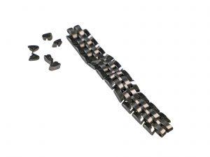 Lot #6431A – Baume _ Mercier 19MM Watch Bracelet Stainless Steel Watch Bracelets [tag]