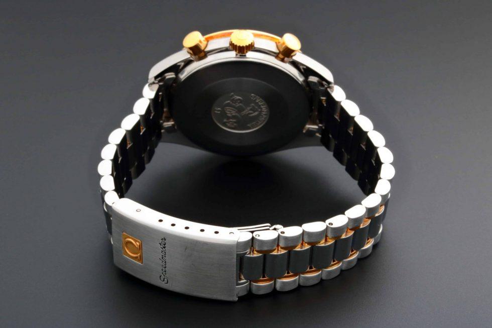 Lot #6740A – Omega 175.0032 Speedmaster Tutone White Dial Watch 175.0032 Omega 175.0032