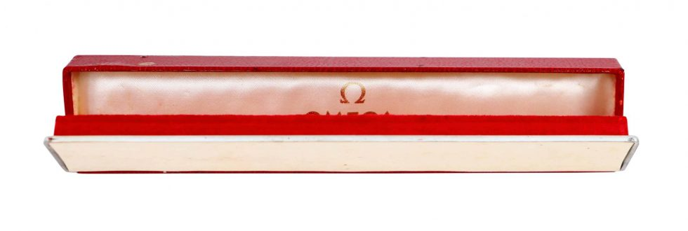 Lot #11014 – Omega Red Vintage Watch Box Omega [tag]