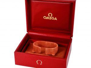 Lot #11003 – Omega Vintage Cuff Watch Box Omega [tag]