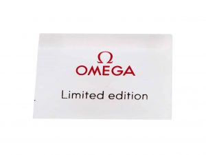 Lot #6797 – Omega Limited Edition Display Sign Omega [tag]