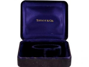 Lot #6803 – Tiffany & Co Watch Box Vintage Omega [tag]