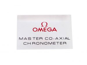 Lot #6805 – Omega Master Co-Axial Chronometer Display Sign Omega [tag]