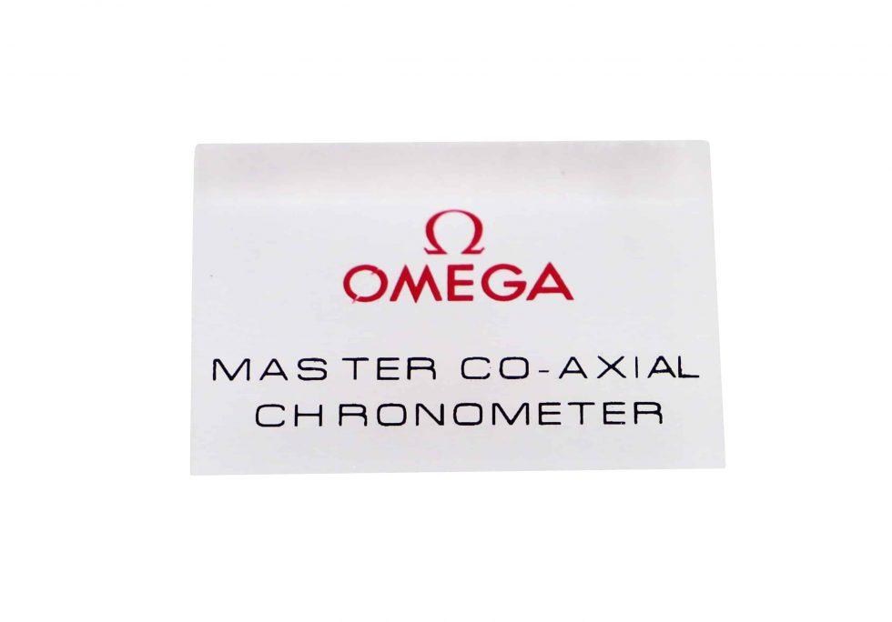 Lot #10961 – Omega Master Co-Axial Chronometer Display Sign Omega [tag]