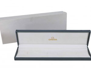 Lot #6806 – Omega Grey Vintage Watch Box Omega [tag]