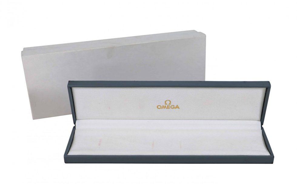 Lot #6806 – Omega Grey Vintage Watch Box Omega [tag]