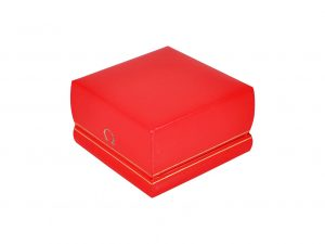 Lot #11010 – Vintage Red Omega Cuff Watch Box Watch Parts & Boxes [tag]