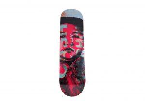 Lot #8642 – Cash For Your Warhol Kim Jong-un Skateboard Deck Cash For Your Warhol [tag]