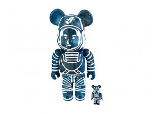 Lot #9009 – Billionaire Boys Club x FDMTL Bearbrick 400% & 100% Set Art Toys Billionaire Boys Club