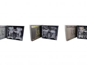 Lot #11284 – KAWS Along The Way 3 Vinyl Figures Set Along The Way KAWS Along The Way