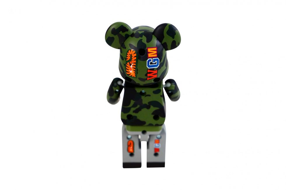 Bape 1st Camo Shark Be@rbrick Chogokin 200% Green – Baer & Bosch Watch Auctione