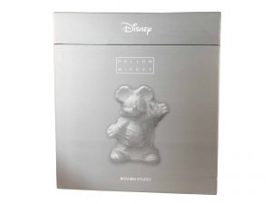 Lot #8604 – Daniel Arsham Hollow Mickey Resin Sculpture SEALED Art Toys Daniel Arsham