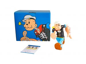 Lot #8598 – Cote Escriva x Thunder Mates Creepy Popeye Color Version Limited Edition Sculpture Art Toys Cote Escriva