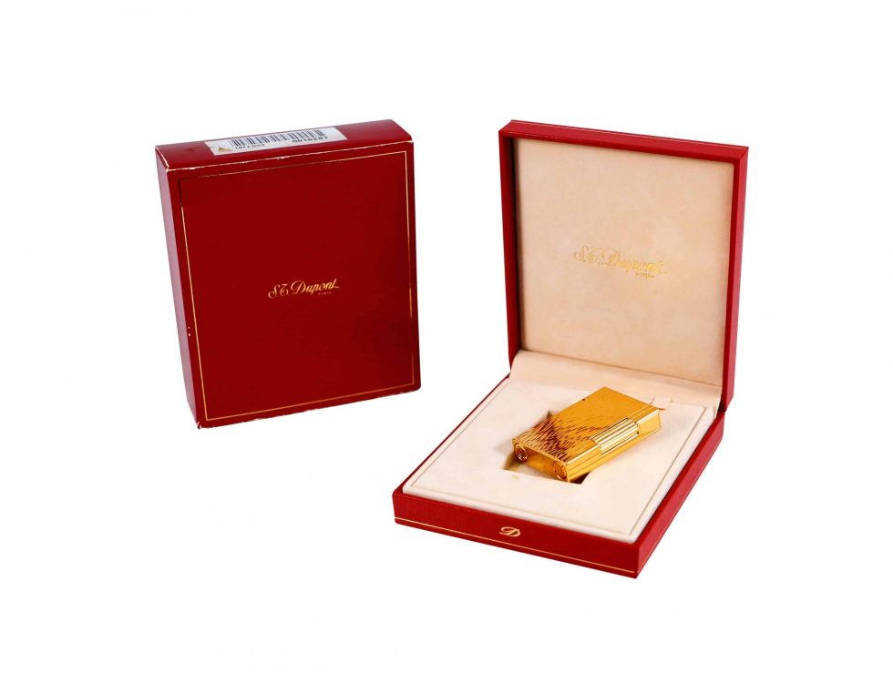 Lot #9633 – S.T. Dupont Lighter With Box Various [tag]