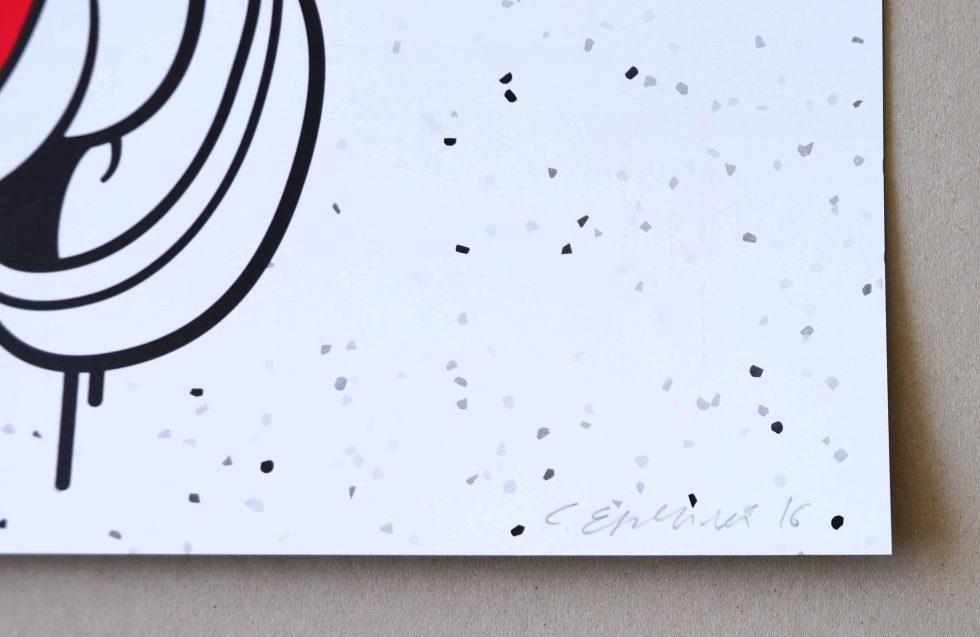 Lot #9533 – Cote Escriva Goofy Screen Print Limited Edition of 40 Art Cote Escriva
