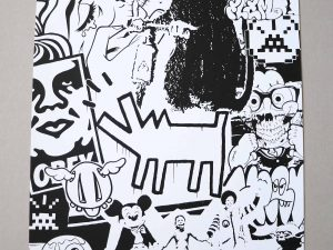 Lot #9528 – Cote Escriva Street Art Screen Print Limited Edition of 50 Art Cote Escriva