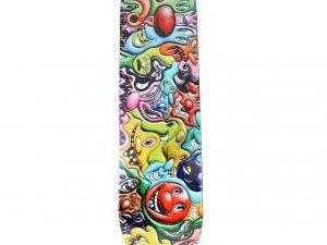 Lot #7599 – Kenny Scharf x Make Skateboards Skate Deck Kenny Scharf [tag]