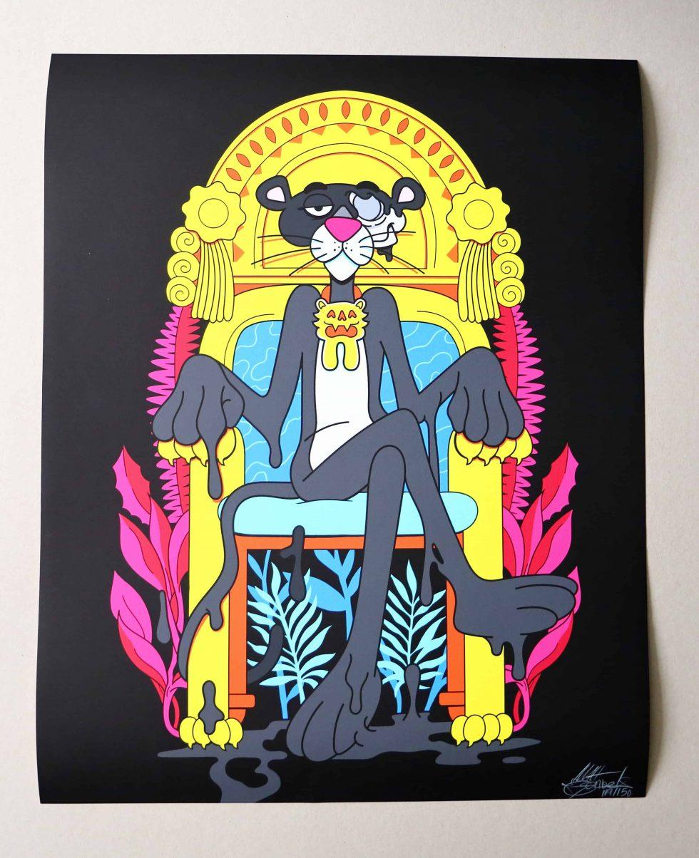 Lot #9520 – Matt Gondek The Best Revenge Black Variant Print Limited Edition Art Matt Gondek