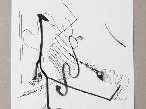 Lot #7647 – Albert Oehlen Meditation über bürokratische Tendenzen bei TZK Lithograph Limited Edition Albert Oehlen Albert Oehlen