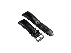 Lot #6436 – Omega 98000265 Alligator Watch Strap 24MM – 20MM Watch Straps [tag]