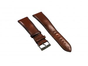 Lot #6438 – Omega 98000045 Pilot 24mm Leather Watch Strap With 20mm Omega Tang Buckle Omega [tag]