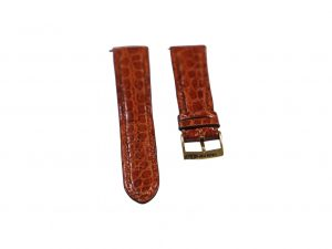 Lot #6441 – Girard Perregaux 20mm Alligator Strap With 18k Yellow Gold 18mm GP Tang Buckle Girard Perregaux [tag]