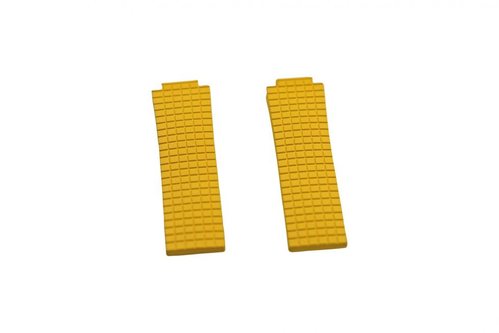Lot #6443 – Paul Picot DM048255 Plongeur C Type 22mm Rubber Watch Strap Watch Straps [tag]