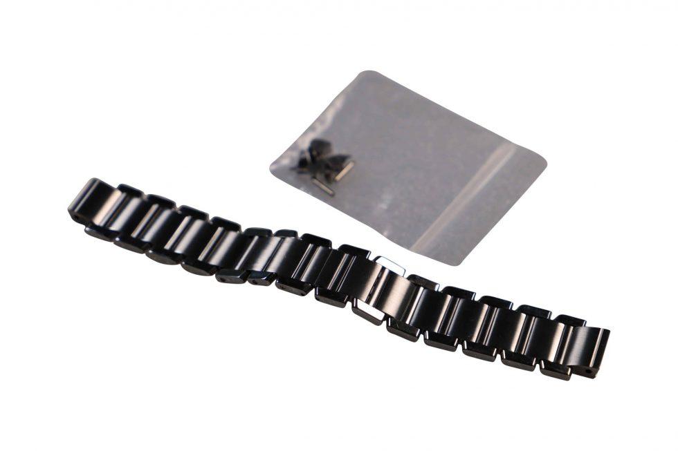 Lot #6443A – Cartier Tank Francaise Chronoflex W51001Q3 Watch Bracelet 20mm Cartier [tag]