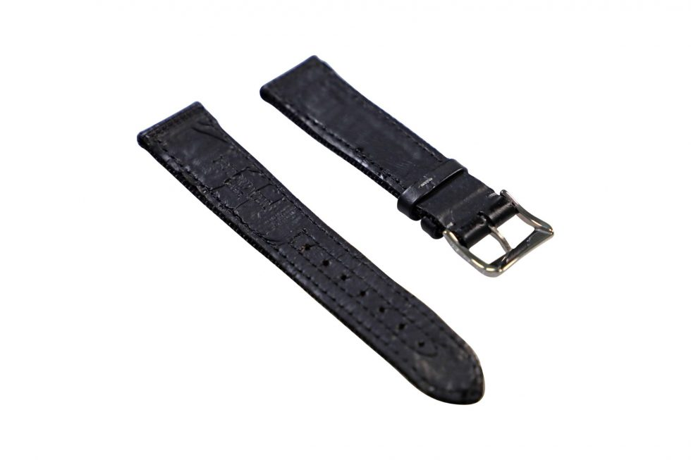 Lot #6447A –  Raymond Weil Geneve 20mm Canvas Leather Watch Strap With 18mm Tang Buckle – Baer & Bosch Watch Auctione Watch Parts & Boxes [tag]