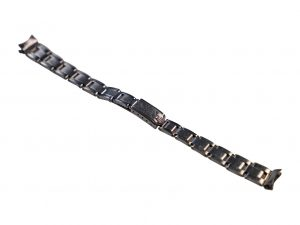 Lot #6453 – Rolex 7204 Rivet Oyster Watch Bracelet Ladies With 70 End Pieces Watch Bracelets [tag]