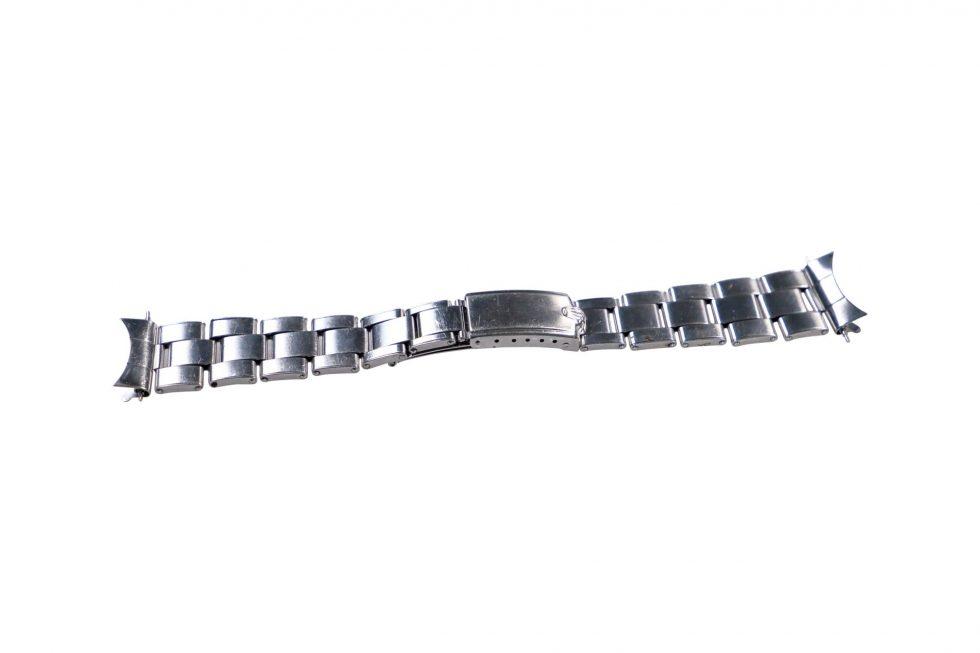 Lot #6454 -Rolex 7205 Rivet Oyster Bracelet With 60 End Pieces 20MM Watch Bracelets [tag]