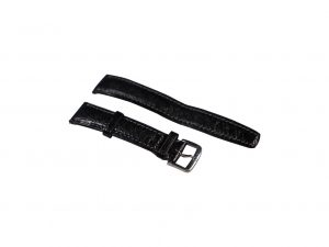 Lot #6464 – Omega 18MM Leather Watch Strap With 16MM Tang Buckle Omega [tag]