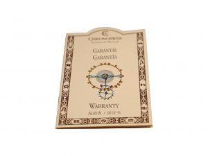 Lot #6465 – Chronoswiss Guarantee Watch Warranty Chronoswiss [tag]
