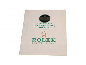 Lot #6470A – Rolex 16800 Submariner Date 1982 Warranty Papers 16800 [tag]