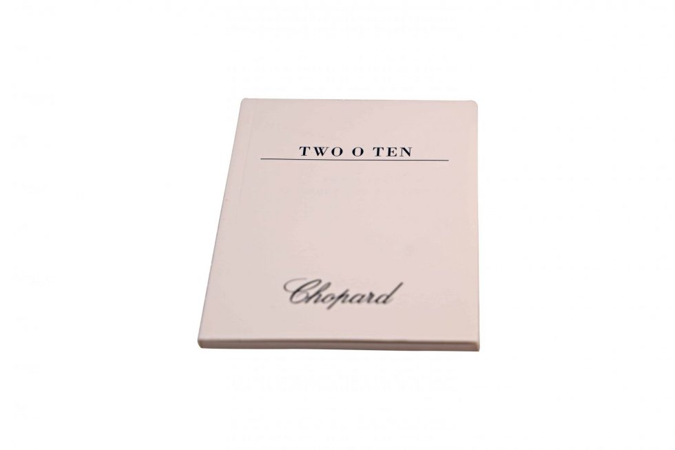 Lot #6477 – Chopard Two O Ten Watch Instruction Booklet Manual Watch Parts & Boxes [tag]