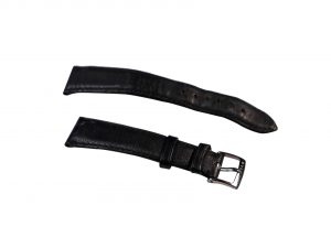 Lot #6481 – Bvlgari 18mm Solotempo Leather Strap With 14mm Bulgari Tang Buckle Bvlgari [tag]